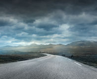 A stormy road Royalty Free Stock Photography