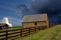Stormy Rural Landscape Stock Photos