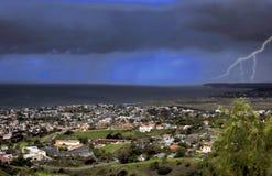 Stormy San Clemente stock photos