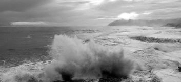 Stormy Sea Royalty Free Stock Image