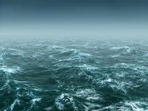 Stormy sea royalty free illustration