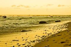 Stormy sea stock photo