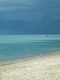 Stormy Sea. Lamai Beach, Koh Samui, Thailand - an approaching storm Stock Photo