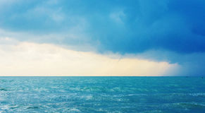 The stormy sea Royalty Free Stock Image