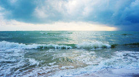 The stormy sea Stock Photography