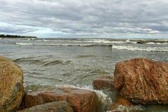 Stormy sea. Stock Image