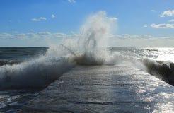 Stormy sea Stock Image