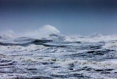 Stormy Sea. S at Brighton England royalty free stock photos