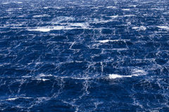 Stormy Sea. Sea surface during 11-beaufort winds in southern ocean Stock Photography