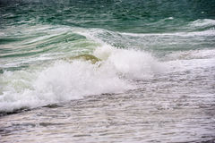 Stormy sea tide Stock Image