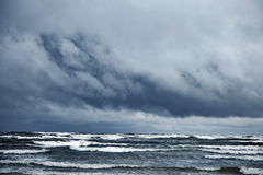 Stormy sea Royalty Free Stock Photos