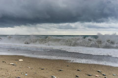 Stormy sea Royalty Free Stock Images