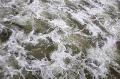 Stormy sea water Stock Photography
