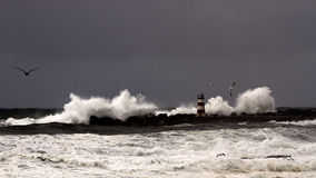 Stormy seas Royalty Free Stock Photos
