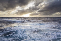 Stormy seas. In the Southern ocean Stock Image