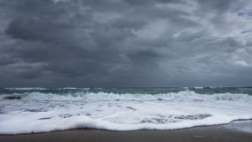 Stormy seascape Stock Photography