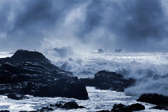 Stormy seascape Royalty Free Stock Photography