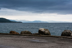 Stormy Seaside - Black Sea Royalty Free Stock Images
