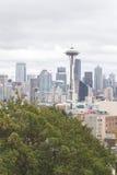 Stormy Seattle Skyline Stock Photos