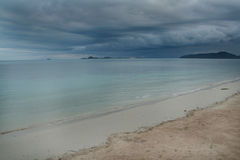Stormy Skies. A storm is coming!  Koh Samui in the gulf of Thailand Royalty Free Stock Photos