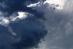 Stormy skies Royalty Free Stock Photos