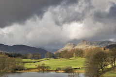 Stormy Skies Over Langdale Stock Photos