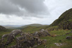 Stormy Skies Over Molls Gap, Ireland Royalty Free Stock Images
