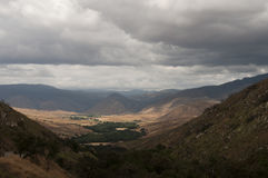 Stormy Skies over Pamo Valley. Ramona, California Landscape Royalty Free Stock Image