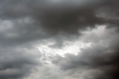 Stormy sky. Clouds of a stormy sky Stock Images