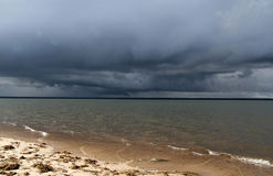 Stormy sky Stock Image