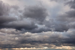 Stormy sky Royalty Free Stock Photos