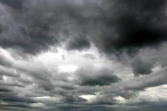 Stormy sky stock photos