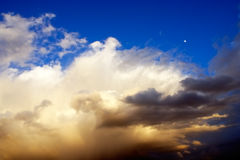 Stormy sky royalty free stock photography