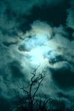 Stormy sky Stock Images