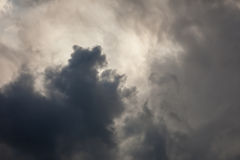 Stormy sky background Royalty Free Stock Photos