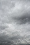 Stormy sky background. Royalty Free Stock Photo