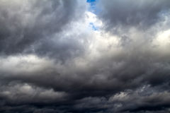 Stormy sky Stock Photography