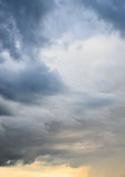 Stormy sky Royalty Free Stock Image