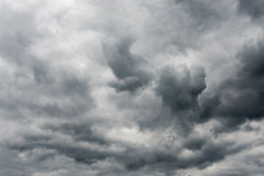 Stormy sky with dramatic clouds Stock Photography
