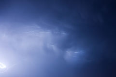 Stormy sky Royalty Free Stock Photo