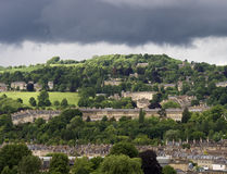 Stormy Sky over Bath Stock Photography