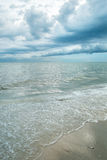 stormy sky and sea Royalty Free Stock Photo
