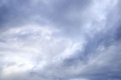 Stormy sky with sunshine Royalty Free Stock Photography