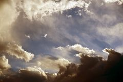 Stormy Summer Sky Stock Photos