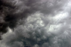 Stormy summer sky Royalty Free Stock Photo