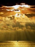 Stormy sunset Royalty Free Stock Images