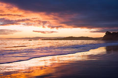Stormy Sunset Royalty Free Stock Photos
