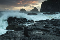 Stormy tide Royalty Free Stock Image