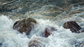 Stormy water. Stock Photo