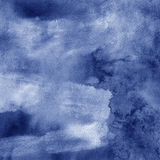 Stormy watercolor painting abstract background. With lightning Royalty Free Stock Photos